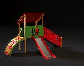 Children play complex 3D