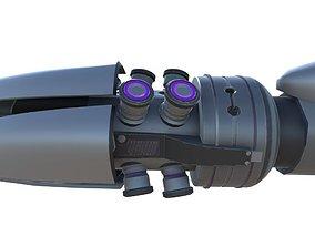 3D model Shock Rifle Sci-Fi Weapon