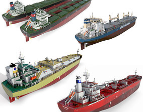 Ships collection 02 3D