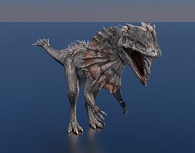 3D model Dilophosaurus Dinosaur
