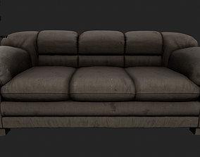 Armchair 3D asset animated
