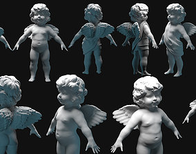 3D cupid angel for valentines day