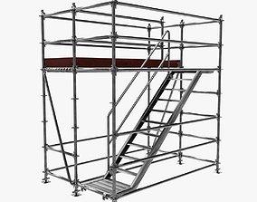 Scafolding-3 Low-Poly 3D model