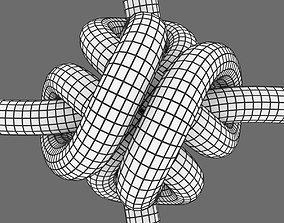 3D asset quadcopter knot