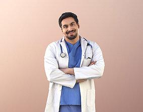 Sahir 11030 - Smiling Doctor Crossed arms 3D model