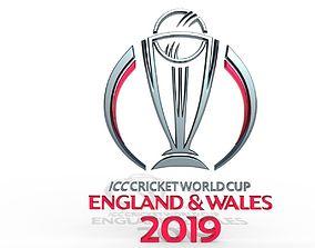 ICC Cricket World Cup 2019 Official Emblem 3D model