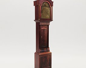 Long case clock - England - late 18th 3D