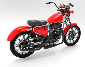 vehicle 3D MotorCycle
