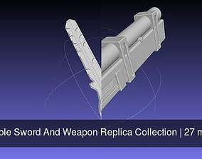Printable Sword And Weapon Replica Collection 3D