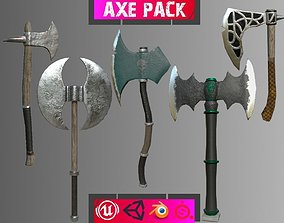 3D asset realtime Weapon pack