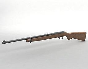 Ruger 10 22 Carbine Rifle 3D asset