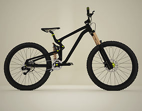 3D model Mountain bike MTB bicycle
