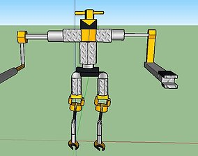 robot model from sketchup