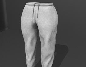 Female Sweatpants 3D asset