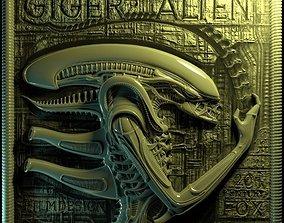 3D model Panno Gigers alien