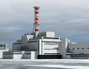 Chernobyl Nuclear Power Plant 3D