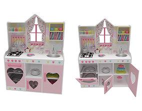 3D Kids Kitchen