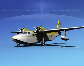 Grumman G-73 Mallard V13 3D