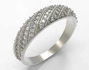 3D print model Elegant Diamond Ring
