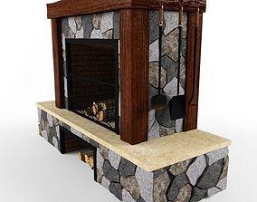 Fireplace 3D fireplace