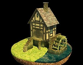 Water mill 3D