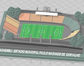 3D print model Pacaembu - Estadio Municipal Paulo 2