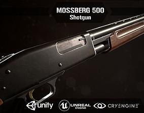 Mossberg 500 Shotgun 3D asset