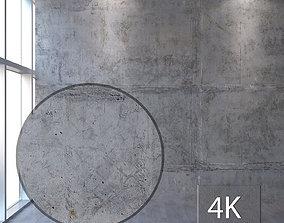 3D model Concrete wall 318