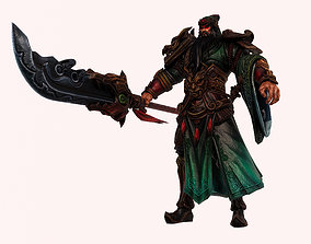3D print model Guan Yu