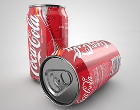 Coca Cola Beverage Can 3D