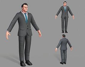 3D model Business Suit Man