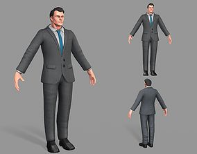 3D model Business Suit Man