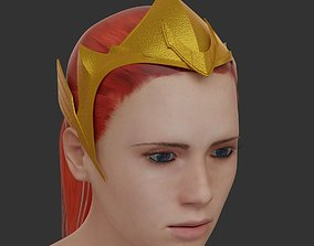 3D print model Mera crown from Justice League