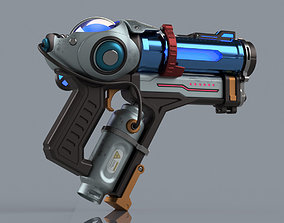 Fanart Overwatch printable gun