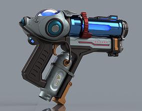 Fanart Overwatch printable gun replica