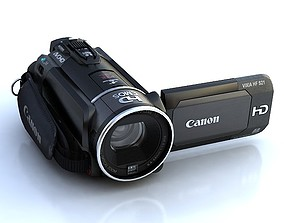 Canon HF S21 camcorder 3D