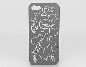 Howling Wolf Iphone Case 6 6s 3D print model