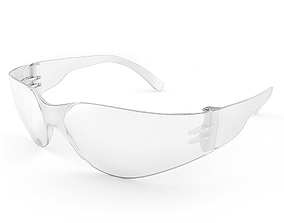 3D Safety glasses for worker