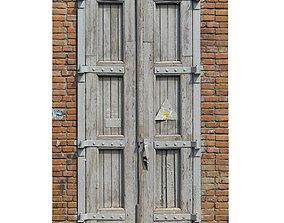 Old high door grey scan 35 3D model