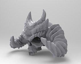 Devil Skull 3D print model