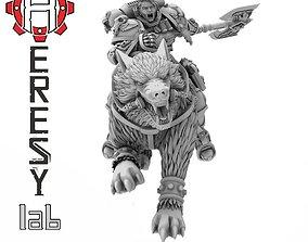 Heresylab - Wolf Fang 3D printable model