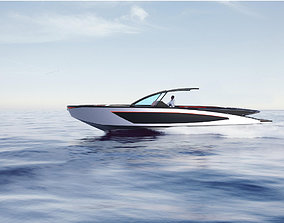 3D Designed 35 Foot Open Boat