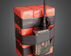 3D model Mining Explosives - GEN - PBR Game Ready