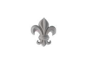 Heraldic Lily 3D printable model