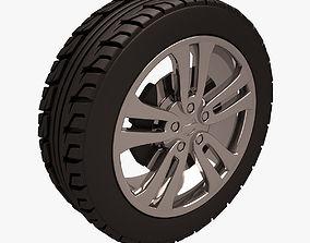 3D model game-ready Nissan Juke Wheel