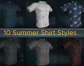 3D 10 Summer Shirt Styles