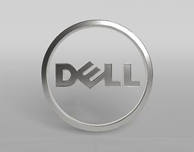 DELL Logo 03 3D
