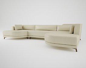3D Designer Sofa B