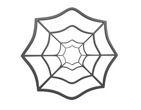 Spider Web v1 003 3D asset