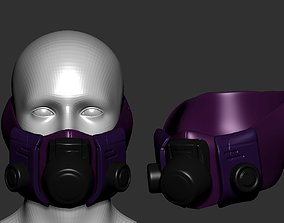 GAS MASK high poly sculpt 3d printable